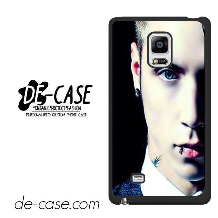 Andy Biersack Black Veil Brides Half Face DEAL-765 Samsung Phonecase Cover For Samsung Galaxy Note Edge