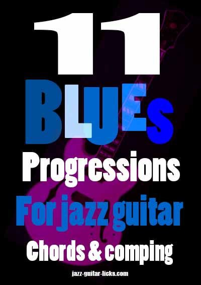 11 blues studies for jazz guitar | PDF eBook & audio files | GUITAR ...