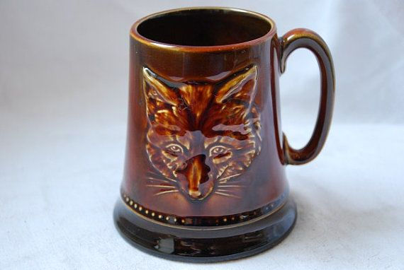 vintage sylvac pottery mug