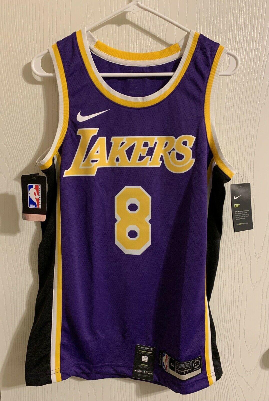 Nike LA Lakers Kobe Bryant 8 Swingman Statement Jersey AV3701-504 ...
