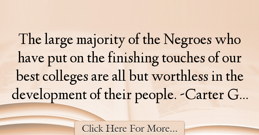 Carter G. Woodson Quotes About Best - 6667