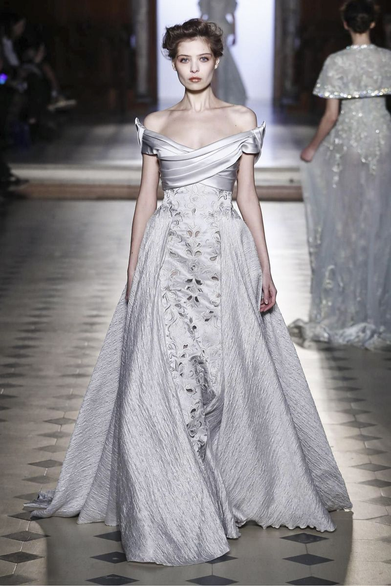 Tony ward fashion show couture collection spring summer in