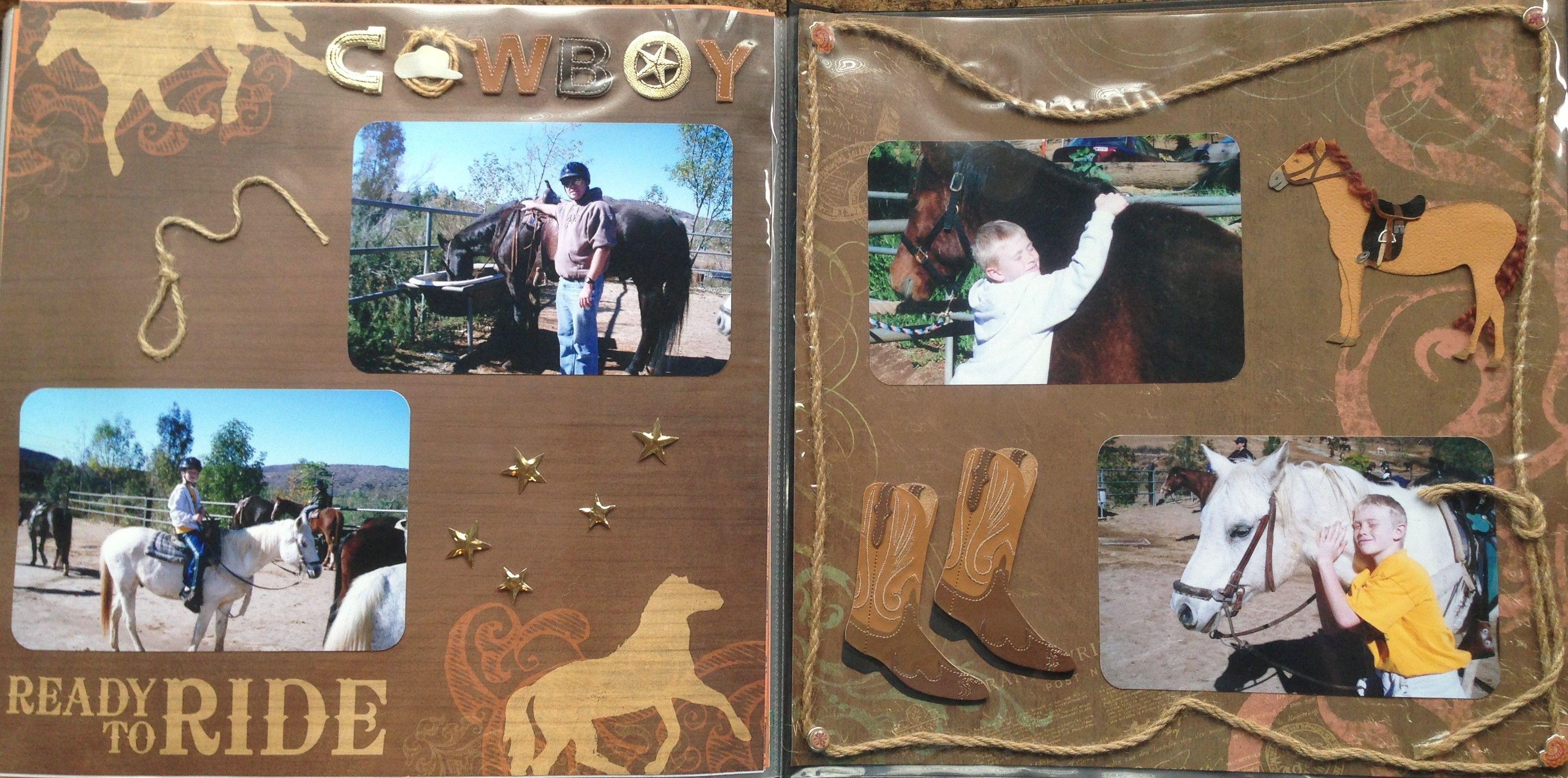 2007 Horseback Riding Horseback Riding Scrapbooking