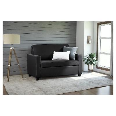 uk availability fd106 8e97f Casey Sleeper Sofa - Twin - Black - Dorel Home Products ...