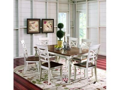 Pacifica 5Pc Casual Dining Set  Badcock &more  Home Decor Mesmerizing Badcock Furniture Dining Room Sets Design Decoration