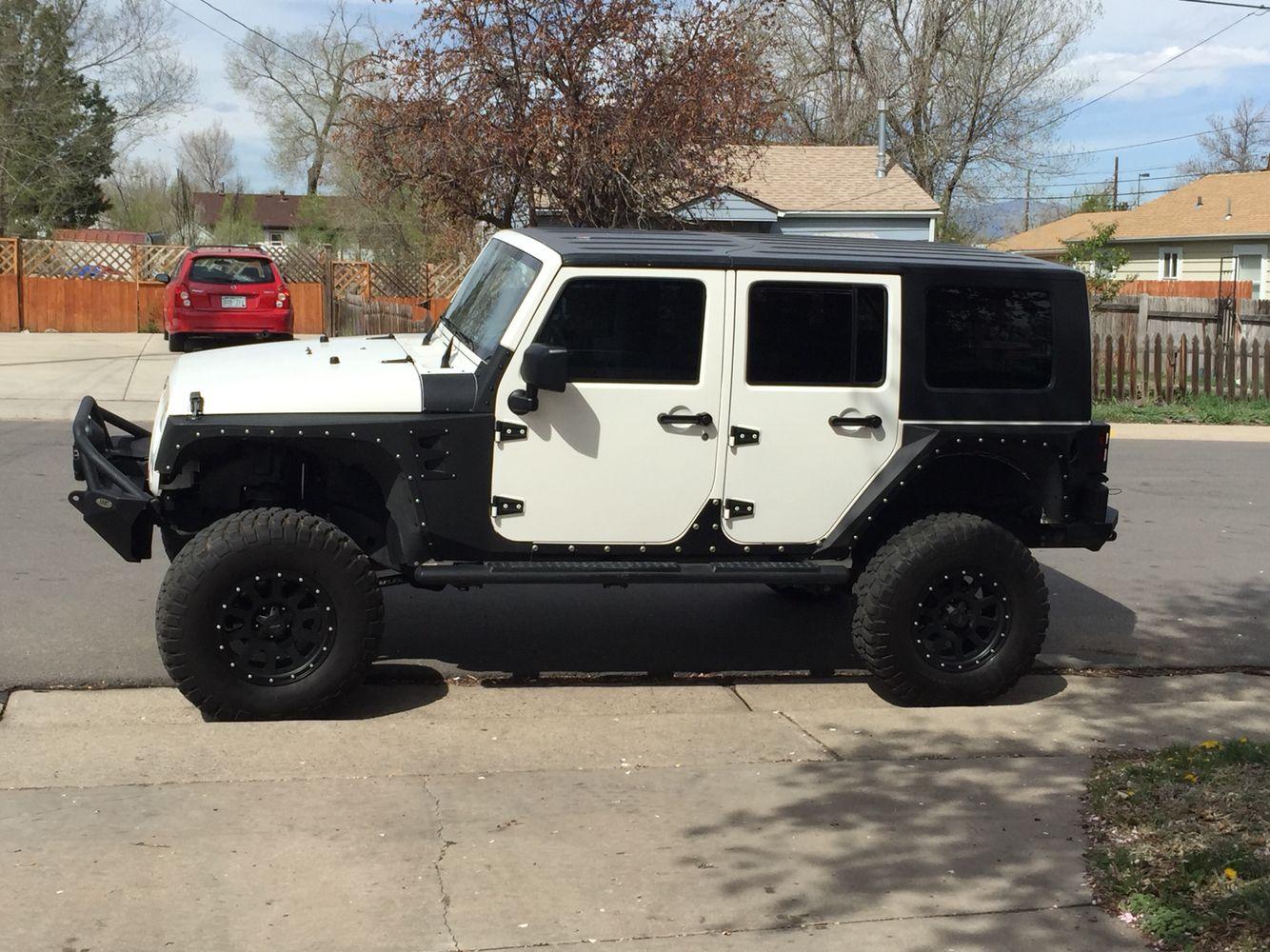 my badass jeep wrangler unlimited with body armor plates, terra