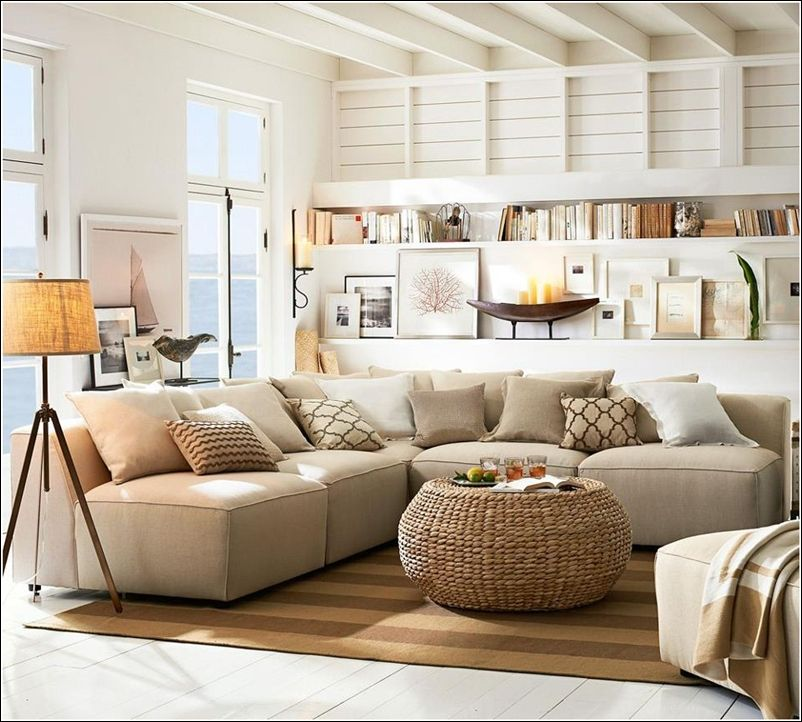 Pottery Barn Style Decorating Ideas | Design Some Coastal Interiors!