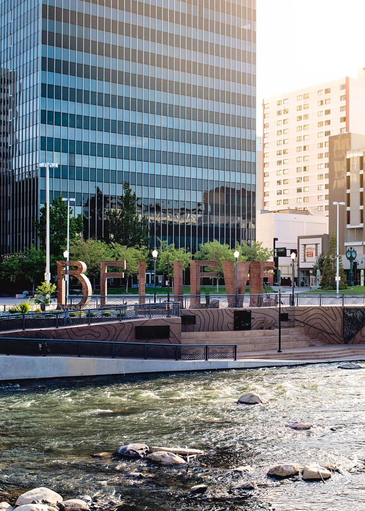 The Reno Arts District And Riverwalk In Heart Of Downtown Is Home To Fantastic Restaurants Bars Ping A Splendid Walkway Along Truckee