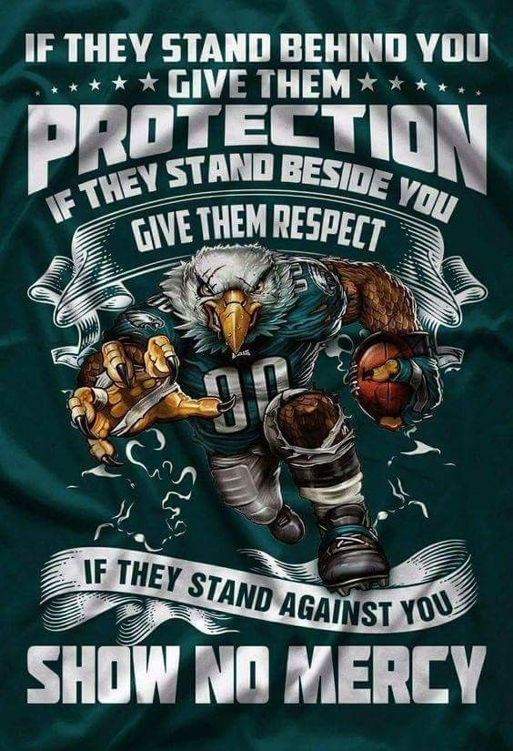 Show no mercy! (With images) Philadelphia eagles