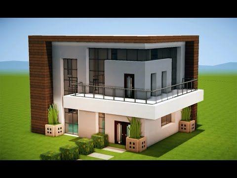 Minecraft o fazer uma Casa Moderna 204