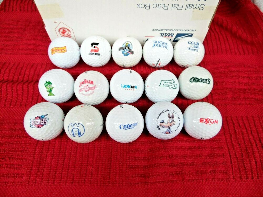 Ad Ebay Vintage Logo Golf Balls 1970s Mostly To 2000 A Few You Have Not Seen Maybe Vintage Logo Golf Ball Ball
