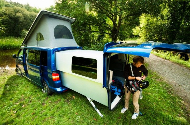 vw transporter 259505 800x530 transporter combi caravane camping car pinterest caravane. Black Bedroom Furniture Sets. Home Design Ideas