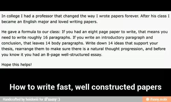 how to write an essay tip