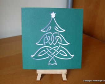 Template Svg Christmas Cards Christmas By Ninefingerjo On Etsy Christmas Templates Christmas Tree Template Christmas Card Template