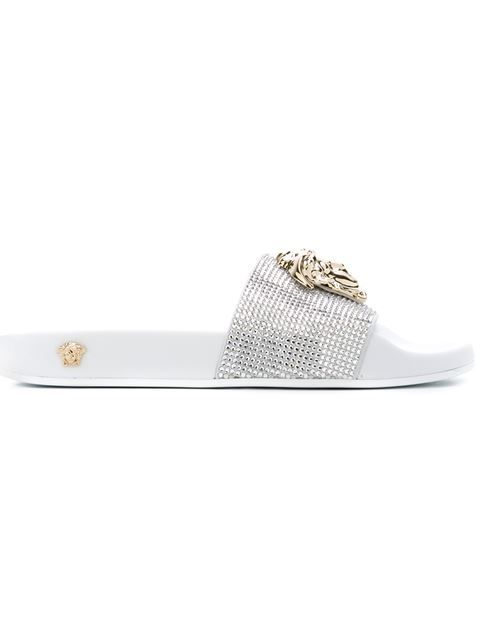 41e6bb104f51fd VERSACE Medusa Sliders.  versace  shoes  sliders. Find this Pin and more on  Sandals men   women ...