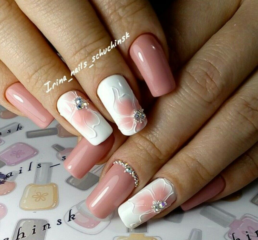 Wow so lovely. | Nail art ideas | Pinterest | Manicure, Makeup and ...