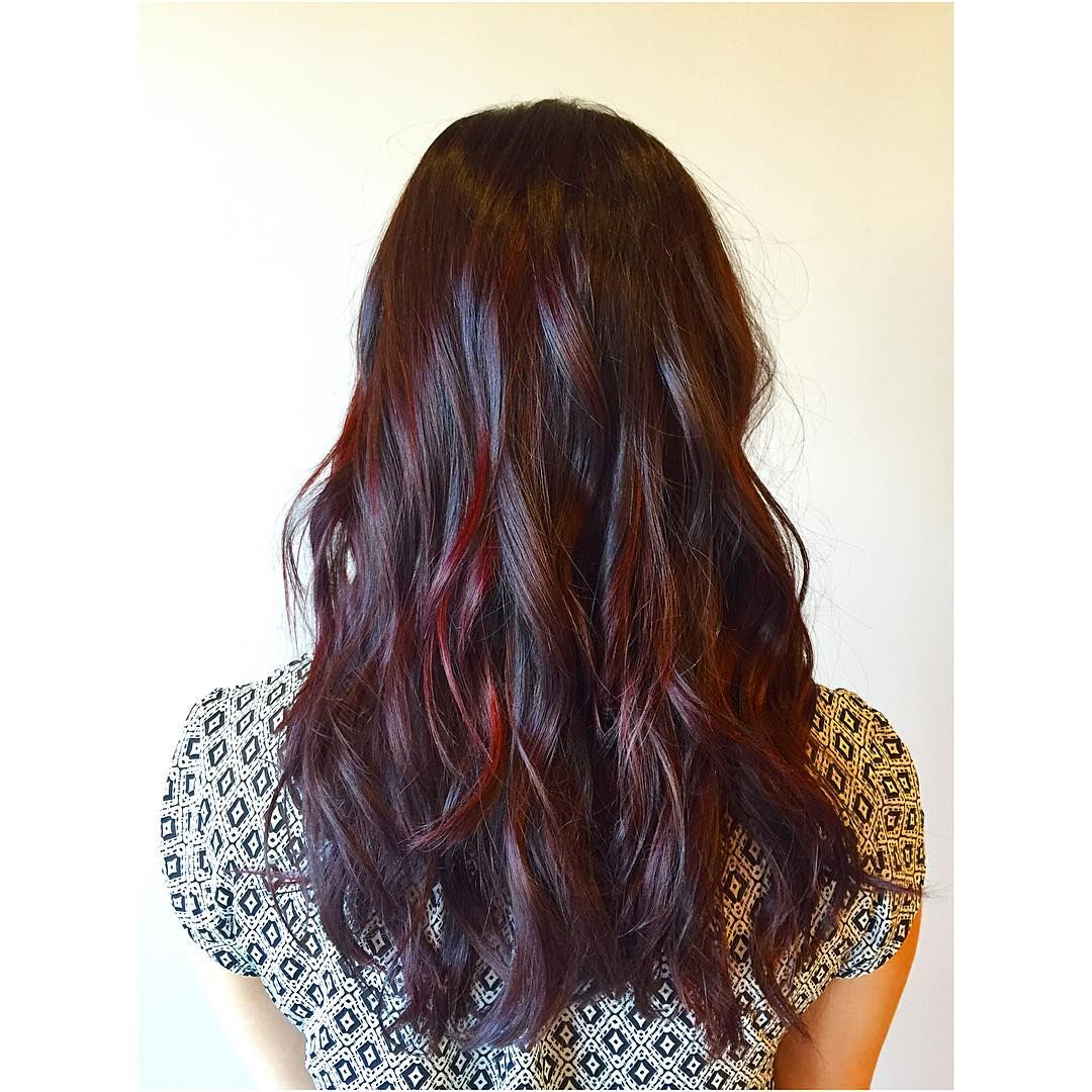 Refined Dark Auburn Hair Colors u Designs u Tempting Shades and
