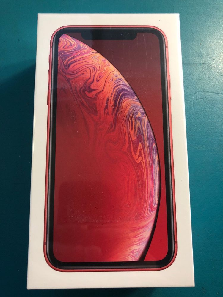 New Apple Iphone Xr 128gb Red Verizon Clean Imei Iphone Xr