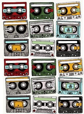 Free Printable  Make your mix tape gift into a real gift