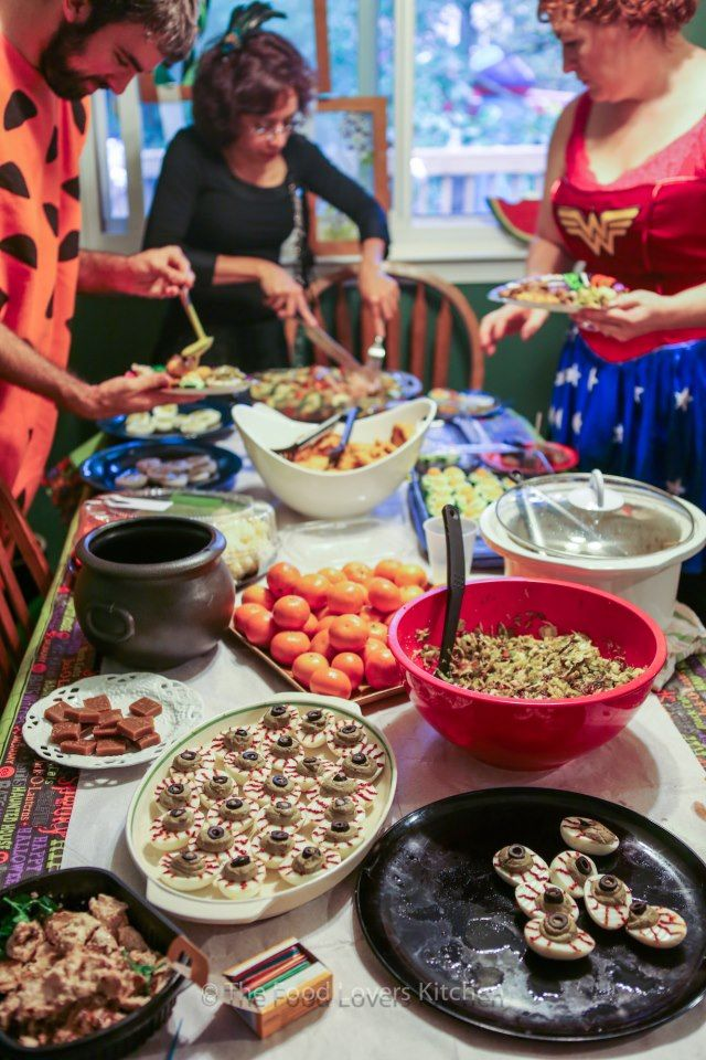 Halloween Potluck Recipes paleo Halloween potluck