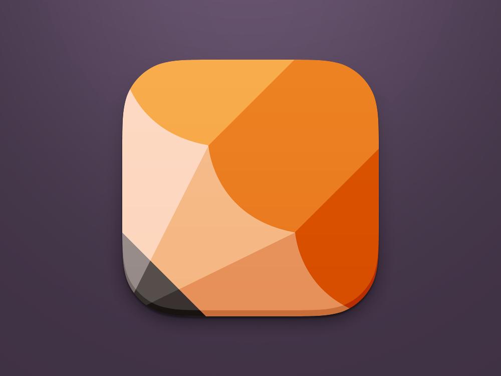 Pencil iOS7 Icon by naveen.creativedreams (via Creattica
