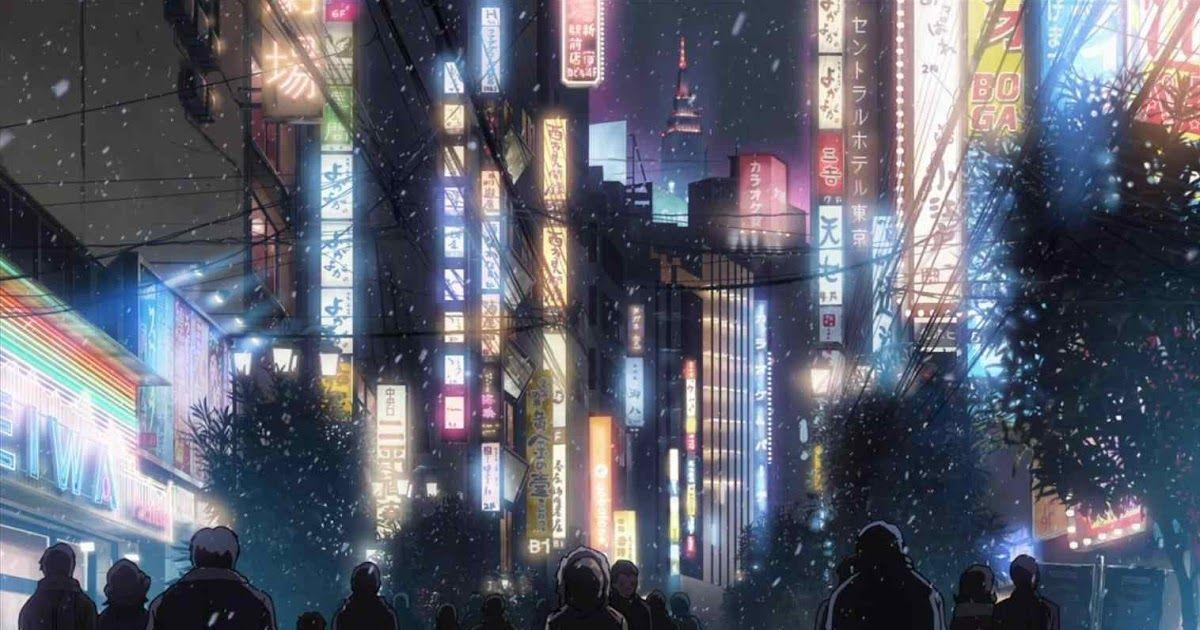 25++ Japanese Anime Wallpaper Hd di 2020 Kota, Malam