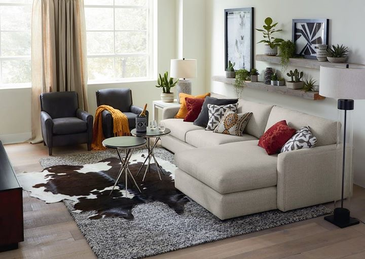Merveilleux Bassett Furniture, Torrance, California, Allure Sofa, Comfortable Sofa  Chaise, Sleek Stylish