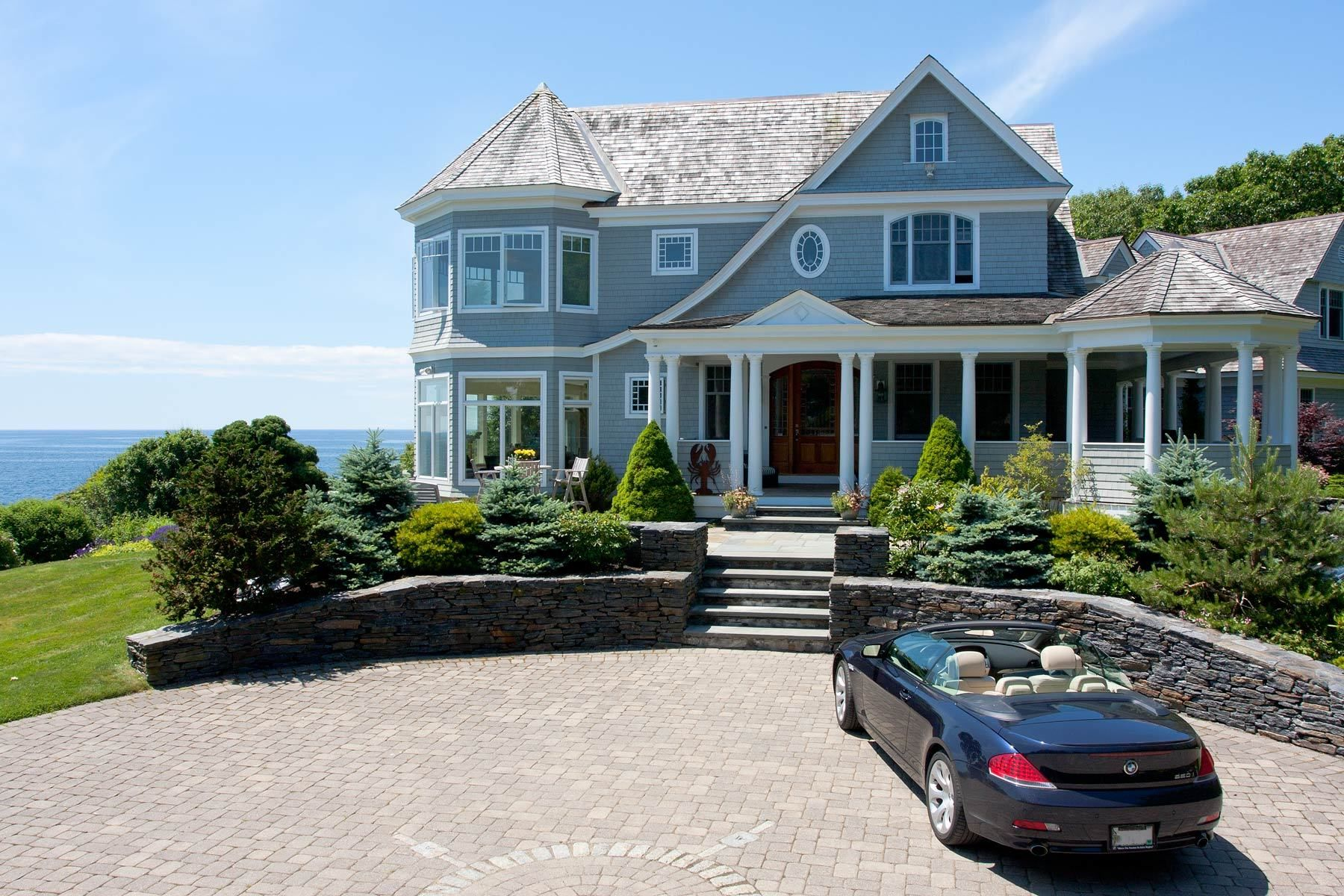 Beautiful coastal home in maine house ideas pinterest for Coastal homes