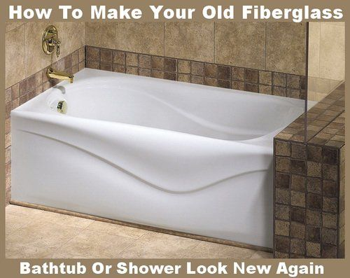 How To Make Your Old Fiberglass Bathtub Or Shower Look New | RemoveandReplace.com
