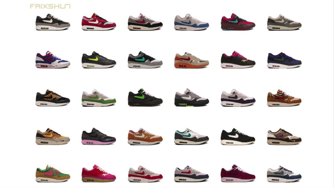 NIKE AIR MAX 1 POSTER PROMO VIDEO The newest poster from frixshun consists  of 30 rare