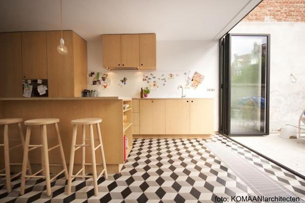 Knappe keukens in multiplex bio & ecowonen keuken pinterest