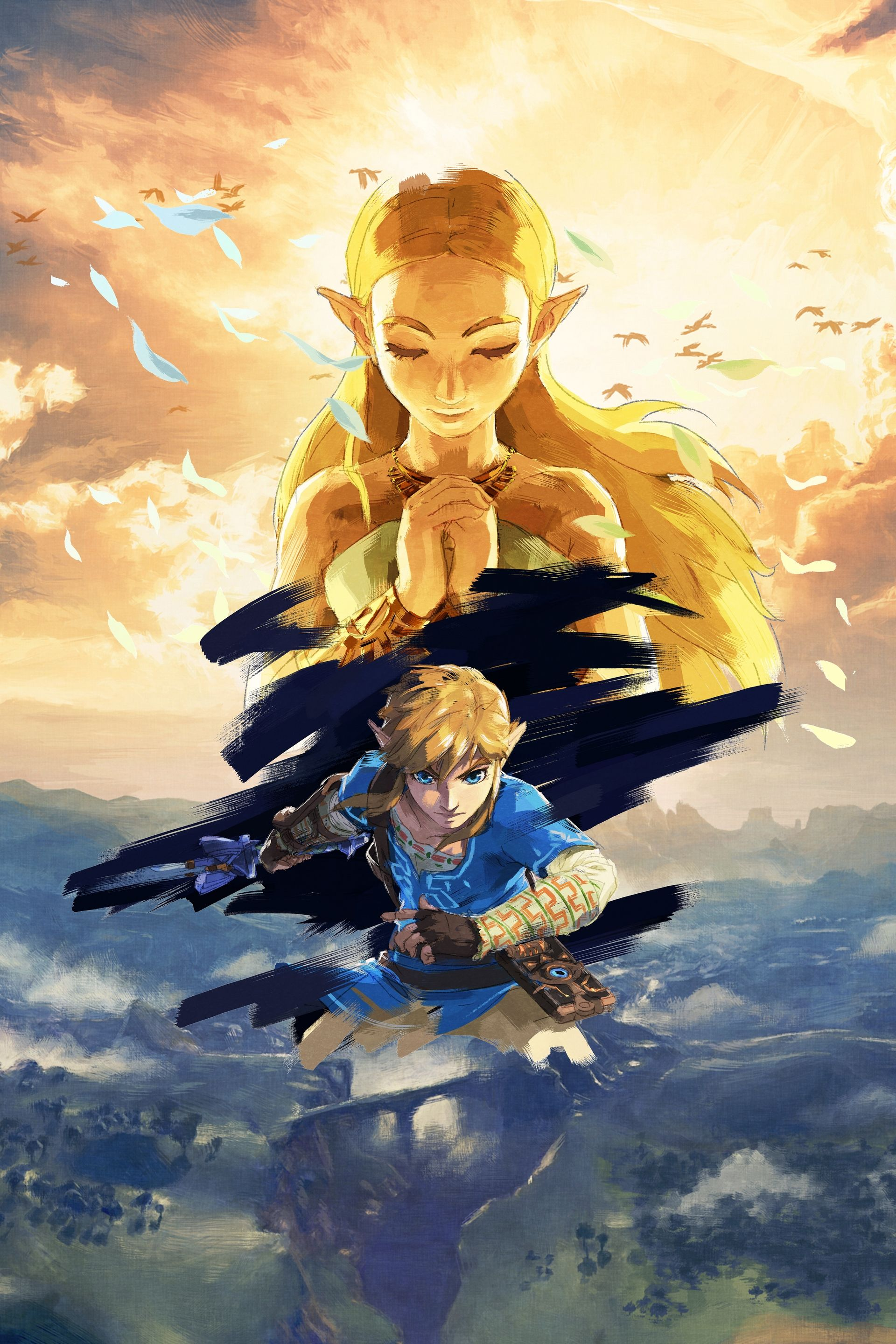 The Legend of Zelda Breath of the Wild Full HD art no
