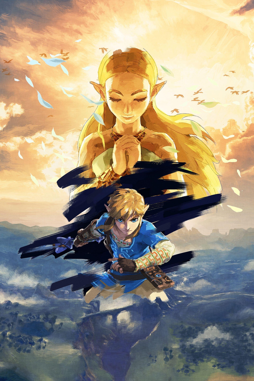 The Legend Of Zelda Breath Of The Wild Full Hd Art No