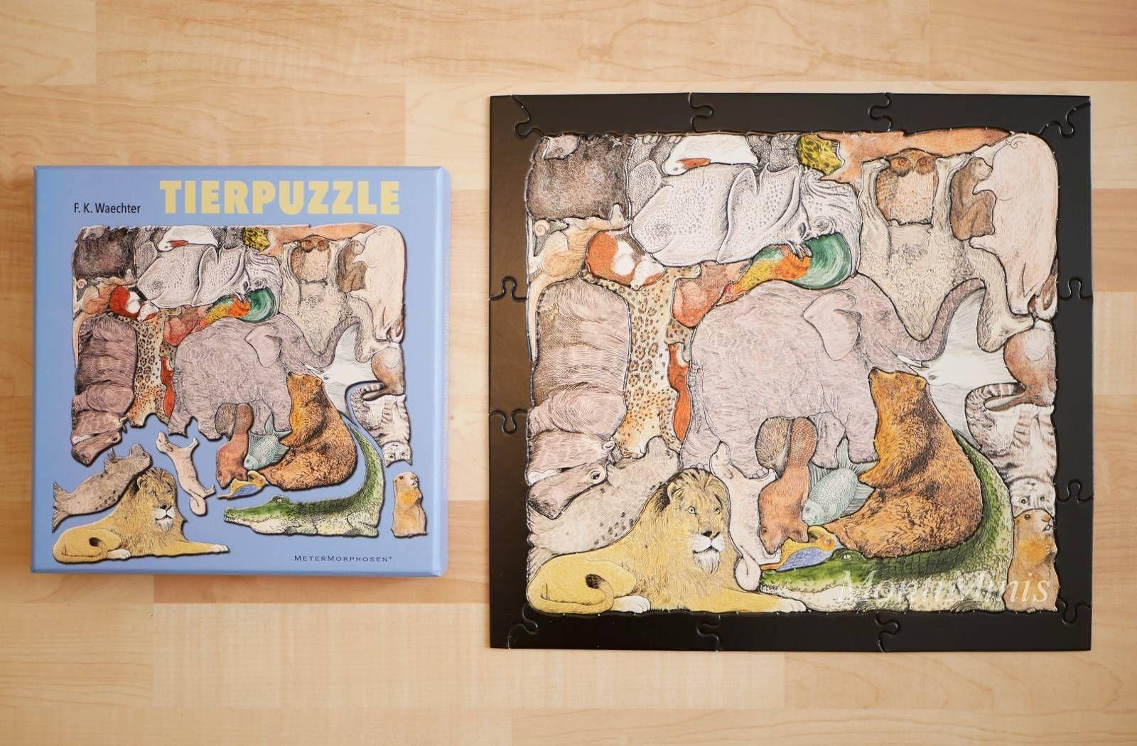Spiel-Tipp: Ein besonderes Tierpuzzle von F.K.Waechter – Montessori Blog & Shop – MontiMinis