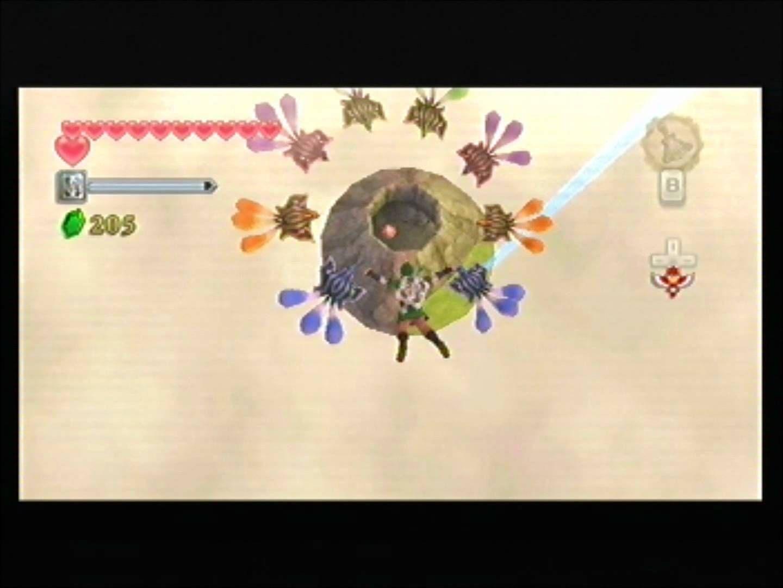 The Legend of Zelda Skyward Sword. Flying squirrels? This