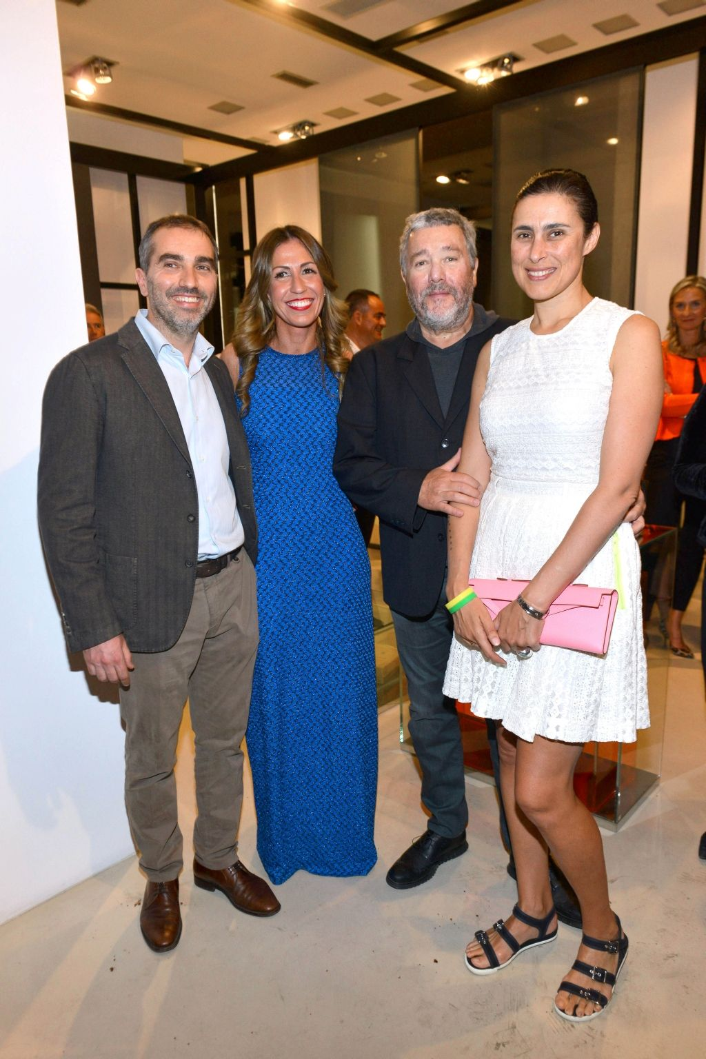 #LorenzoArosio, #SilviaGorlini, #PhilippeStarck, #JasmineStarck #Salone2015 #GLASITALIA cocktail at Flagship Store Milano - Via Santa Sofia | April 15, 2015