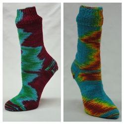 Great Yarns Lightning Strikes Sock Kit