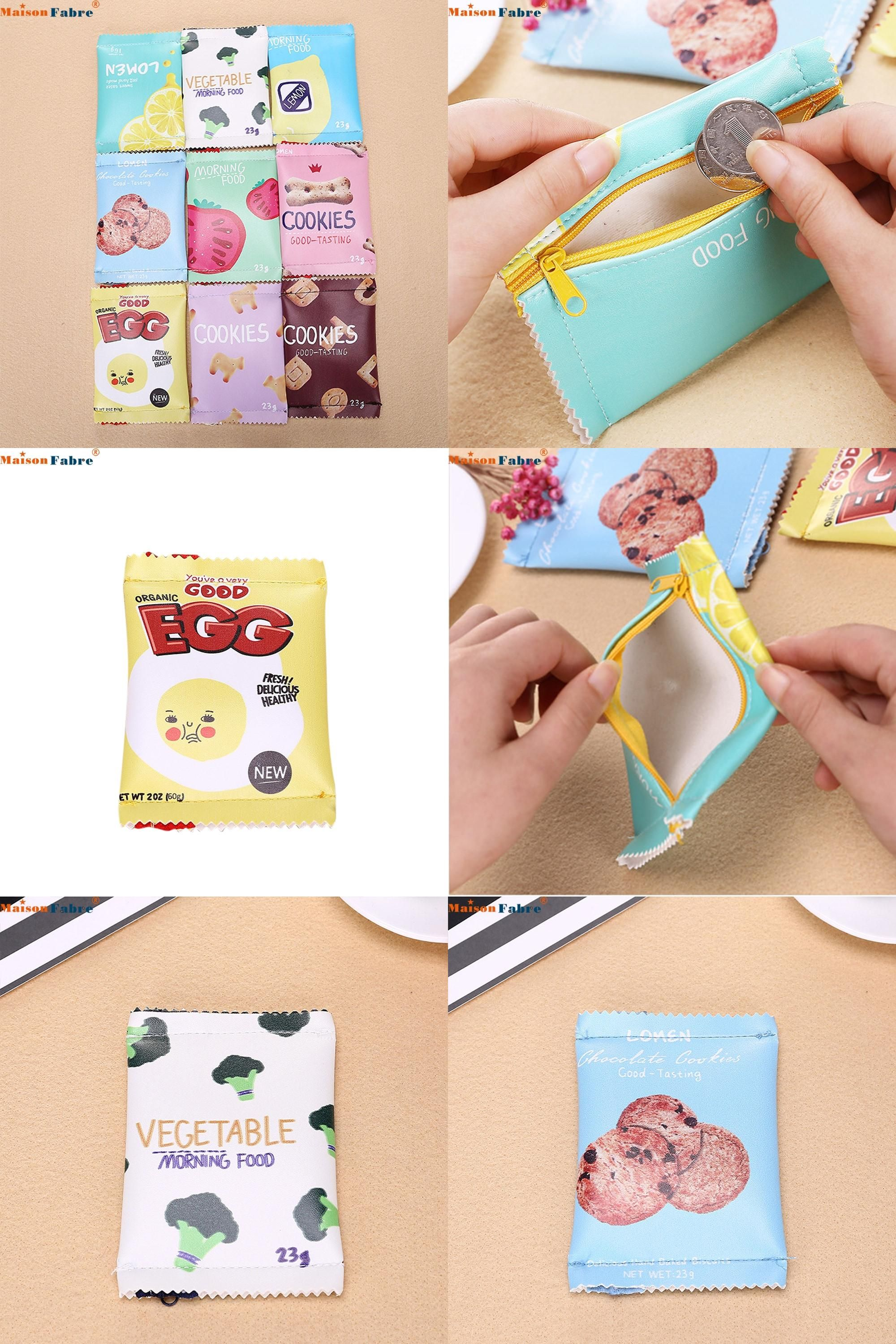 [Visit to Buy] Hot selling coin pursecute wallet women Girls Cute Fashion Snacks Coin Purse Wallet Bag Change Pouch Key Holder drop shipping #Advertisement
