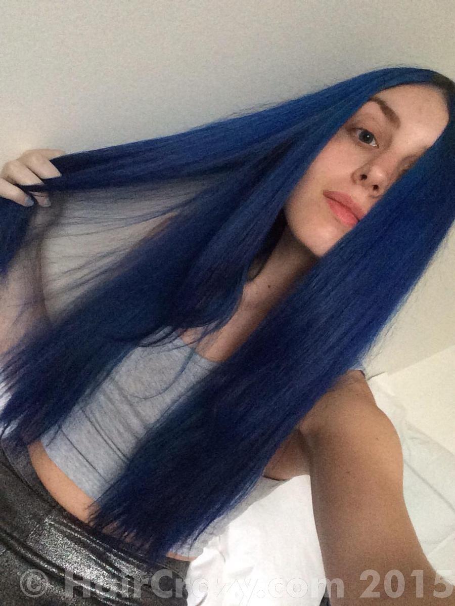 Park Art|My WordPress Blog_Adore Blue Hair Dye On Black Hair