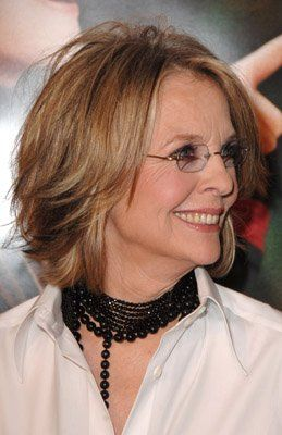 Pictures Photos Of Diane Keaton Medium Length Hair Styles Hair Styles Diane Keaton Hairstyles