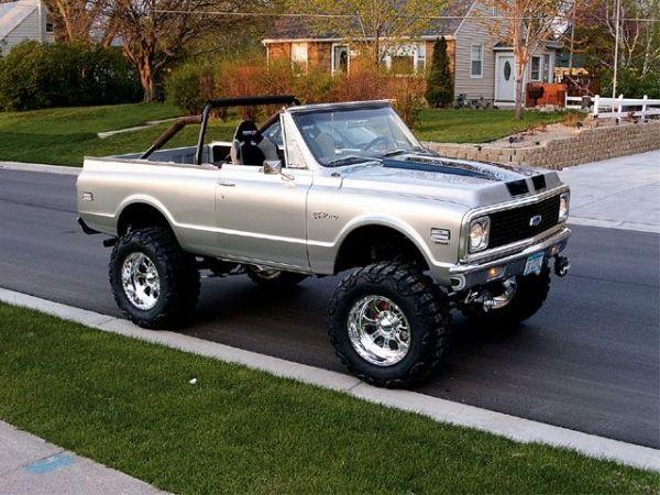71 Or 72 Chevrolet K5 Blazer By Patsy Trucks Chevy Trucks Gmc Trucks