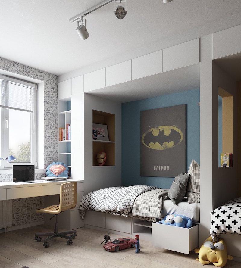 28 idées de décoration pour une chambre d\'enfant sur le thème des ...