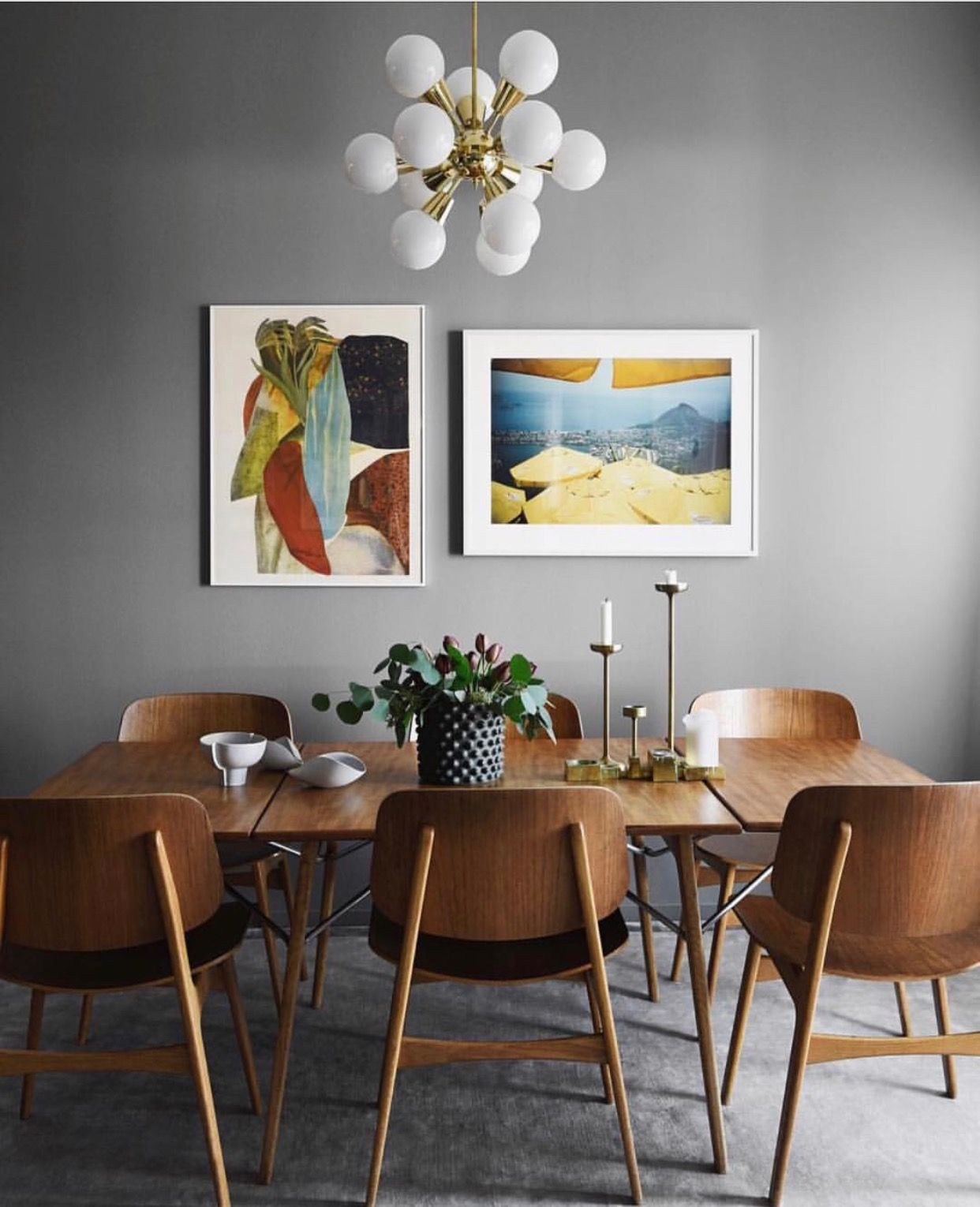 Room Ideas Mid Century Wall ArtMid Modern Dining