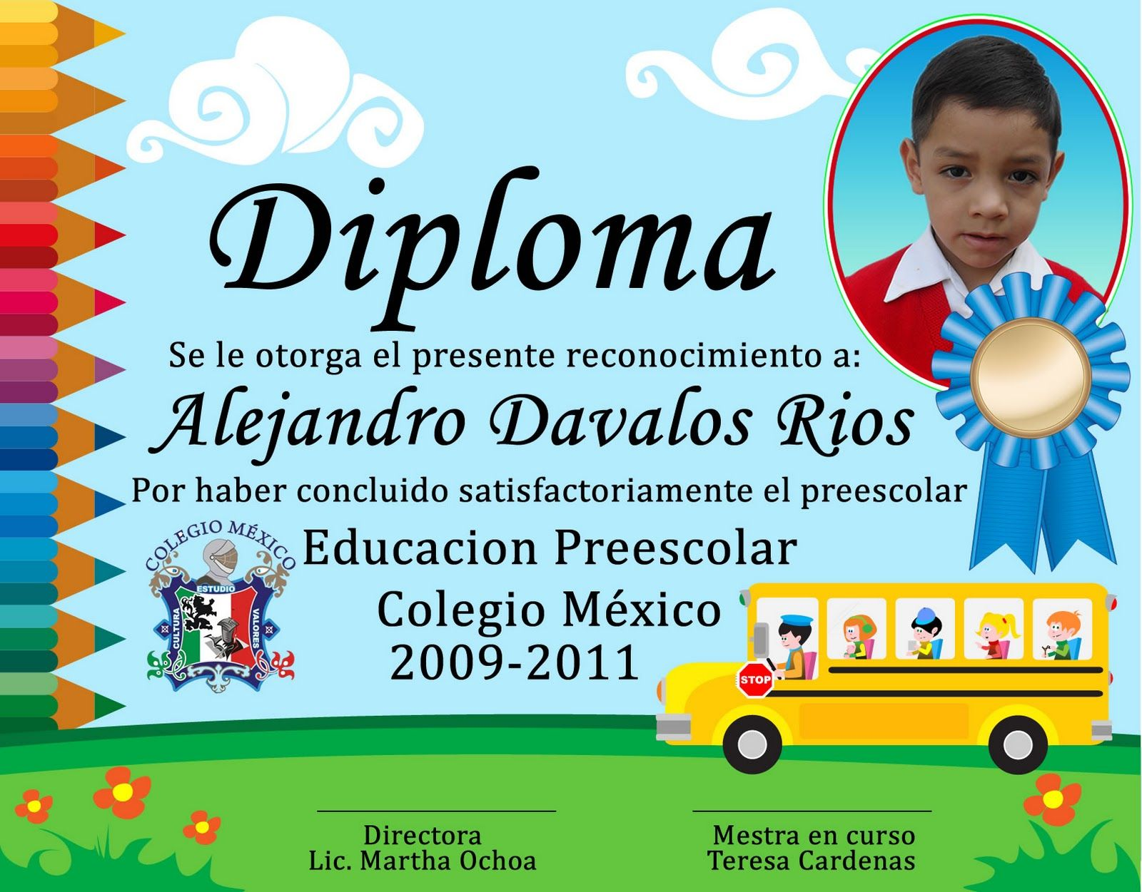 Diplomas para niños de kinder - Imagui Más | diplomas | Pinterest ...