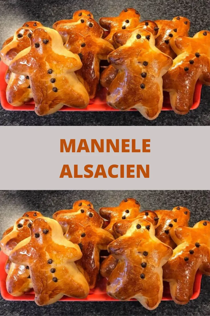 Mannele alsacien – Toutes recettes