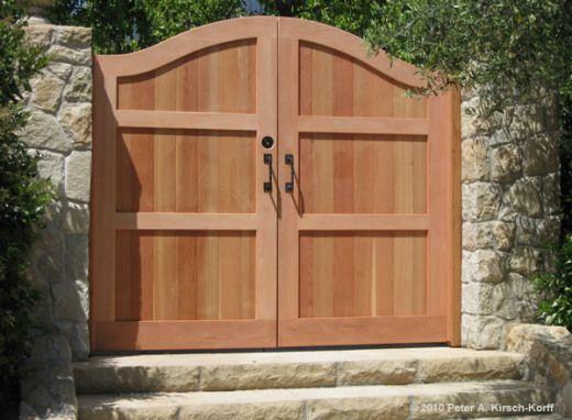 Redwood Gate Designs   Wood Fence Design Plans – How To build DIY Woodworking Blueprints ...