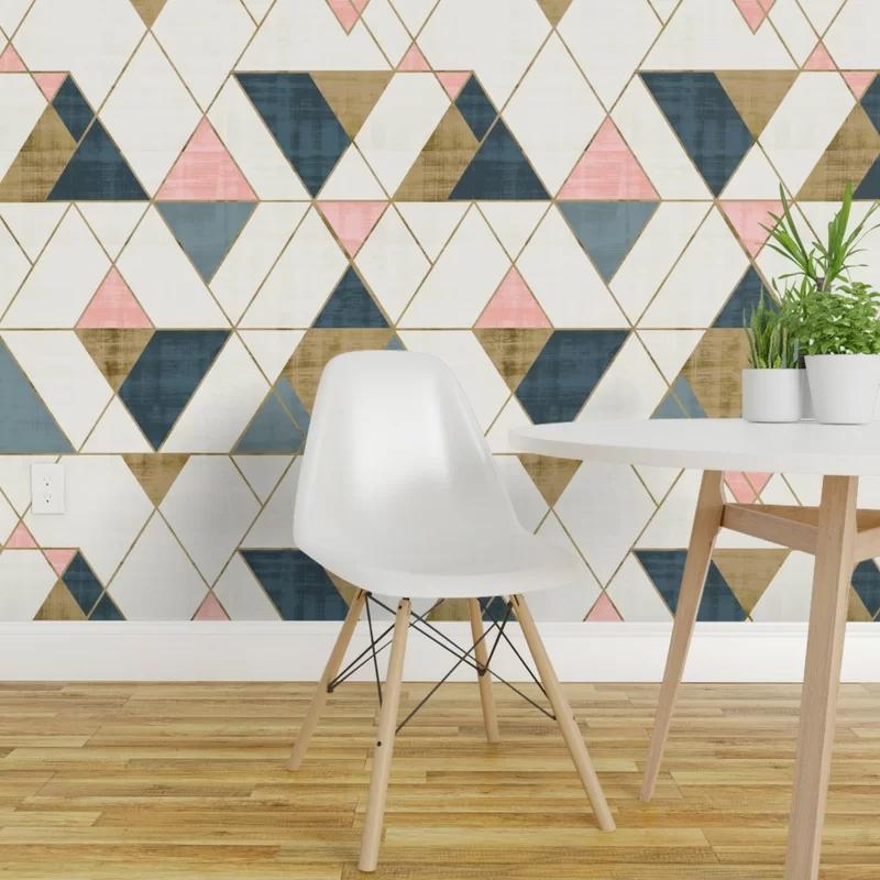 Hashtag Home Debbra Removable Peel and Stick Wallpaper ...