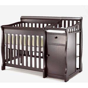 Sorelle Camden Mini Porta Crib Lush Merlot 229 Walmart