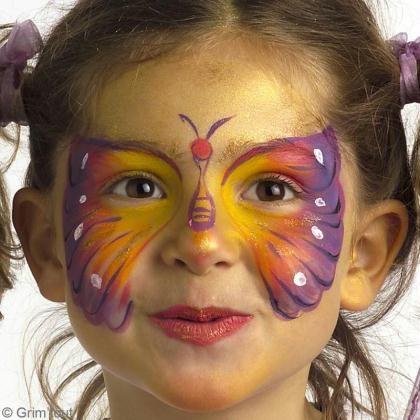 Tuto : Maquillage papillon pour fille – Idées conseils et tuto Maquillage