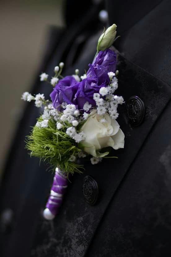 Weiß - Violett